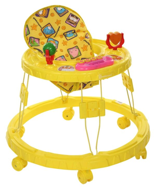 Chikoo Round Walker DX Yellow-0