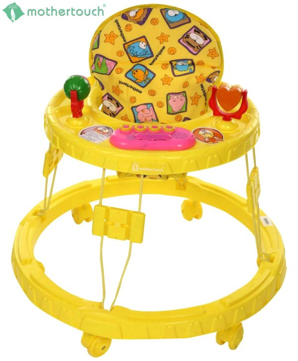 Chikoo Round Walker DX Yellow-857