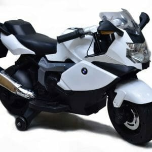 BMW 12V Battery operated Bike-White-0