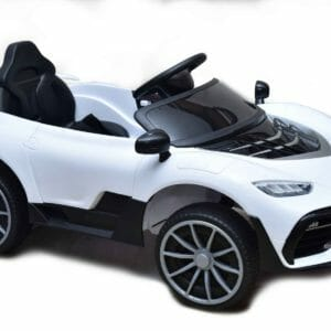 BMW Car Ride-On for Kids - White -0