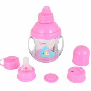 5 in 1 Sipper 225 ml pink-0