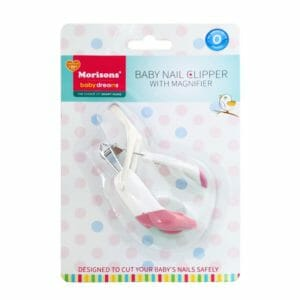 JLM MBD Baby Nail Clipper With Magnifier -P-0
