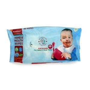 JLM MBD Hand & Mouth wipes- 80`s pack-0
