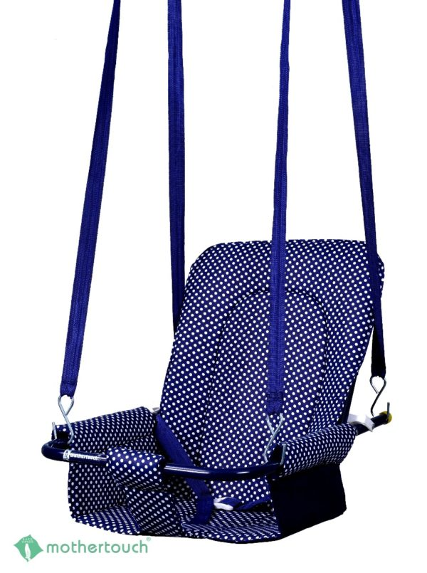 2 in 1 Swing Dotted Blue-0