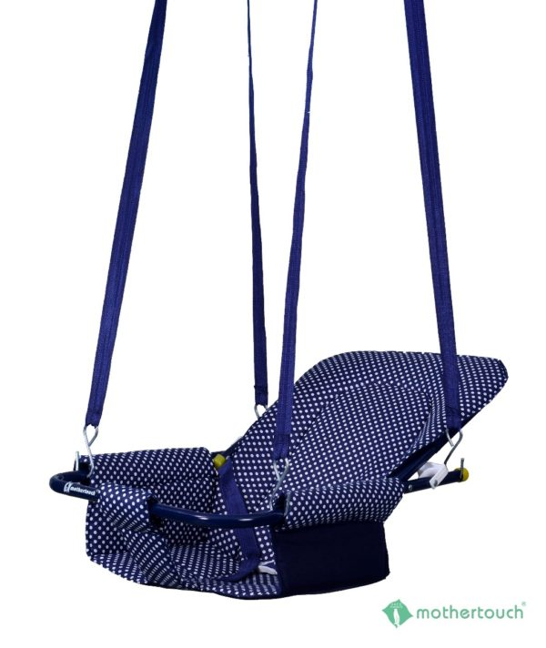 2 in 1 Swing Dotted Blue-833