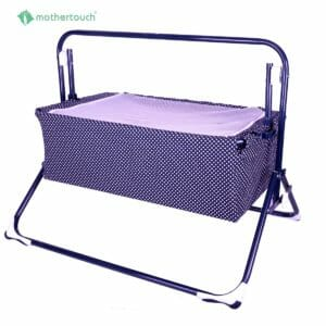 Wonder Cradle Dotted Blue-0