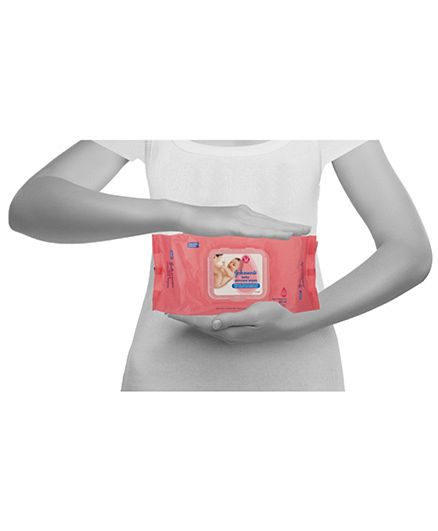 Johnson's baby Skincare Wipes - 80 Pieces-1652