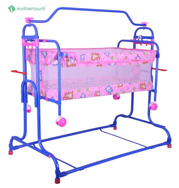Mothertouch high compact cradle-Pink-0