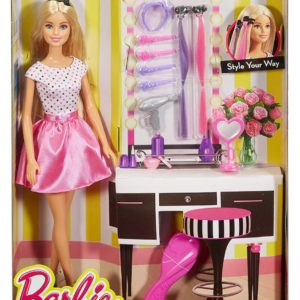 Barbie Doll and Playset, Multi Color-0