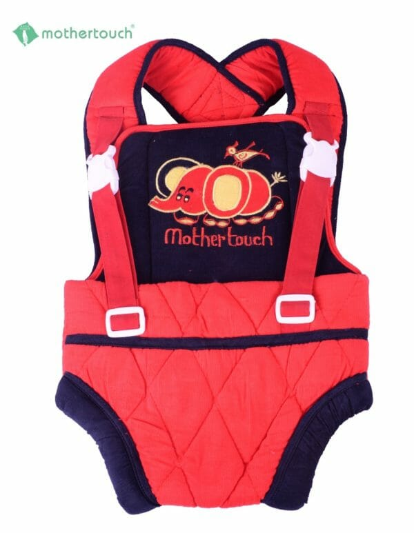 Mothertouch Baby Carrier Cordurot Fabric -Red-0