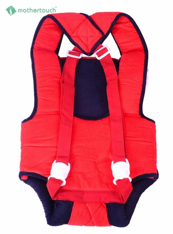 Mothertouch Baby Carrier Cordurot Fabric -Red-2872