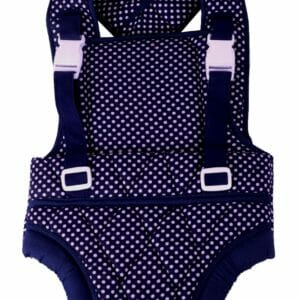 Mothertouch Baby Carrier Denim Dotted-0