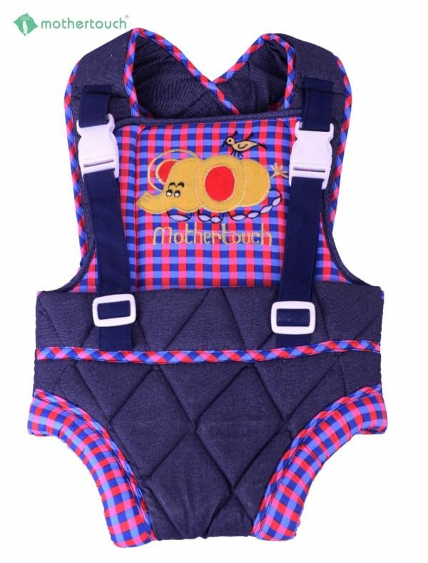 Mothertouch Baby Carrier Denim Red-0