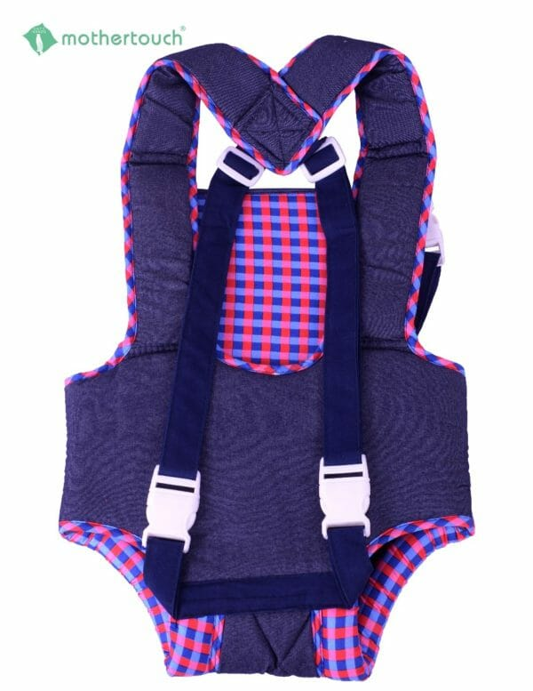 Mothertouch Baby Carrier Denim Red-2856