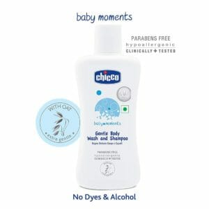 Chicco 200ml Gentle Body Wash and Shampoo-0