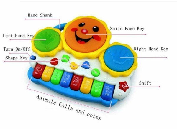 Drum Keyboard with Light -0