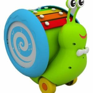 Giggles Musical Snail, Multi Colour -0