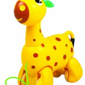 Giggles Nico The Giraffe, Yellow-0