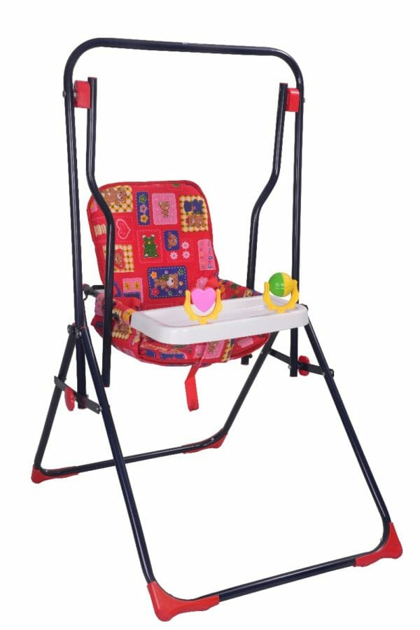 Mothertouch Garden Swing Red-0