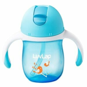 Luvlap Birdie Sipper, Blue, 160ml-0