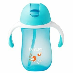 Luvlap Birdie Sipper, Blue, 260ml-0