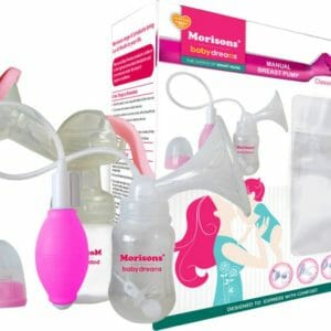 JLM MBD Manual Breast Pump - Classic Pink-0
