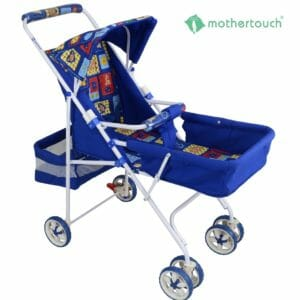 Mothertouch Pram DX - Blue-0