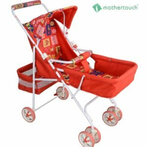 Mothertouch Pram DX - Red-0