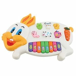 Rabbit Musical Piano-0