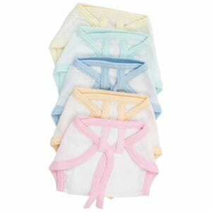 Tiny Care Muslin Nappy For New Born - Multicolor (Pack Of 5)-0
