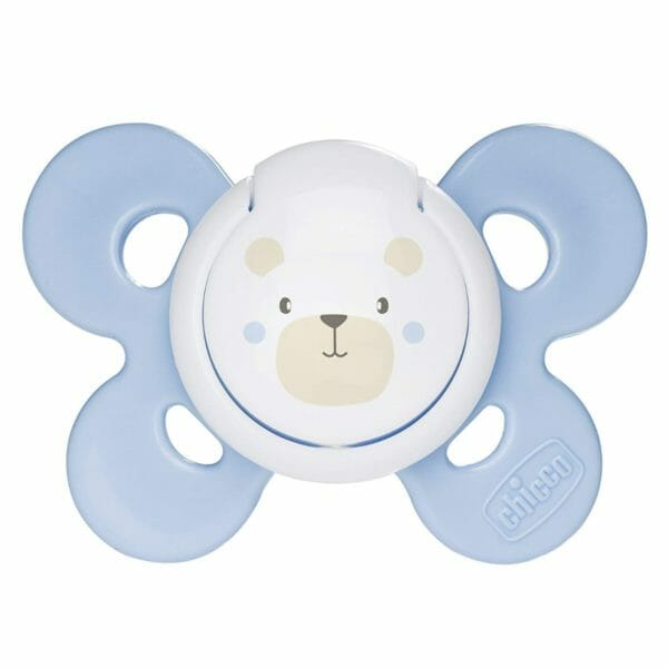 Chicco Physio Comfort Silicone Soother (1 piece, Blue)-0