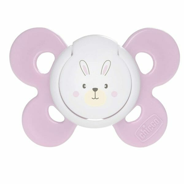 Chicco Physio Comfort Silicone Soother (1 piece, Pink)-0