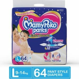MamyPoko Pants Extra Absorb Diaper - L (64 Pieces)-0