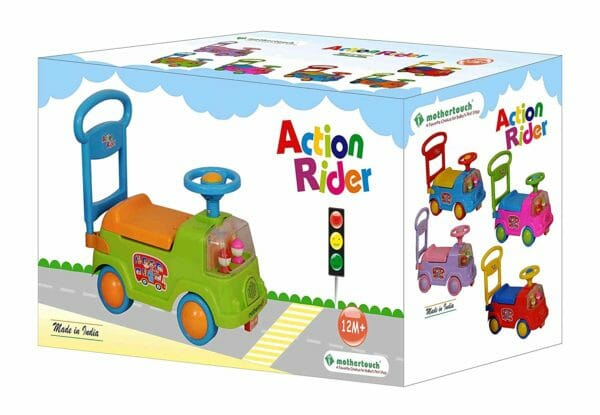 Mothertouch Action Rider (Green)-3466