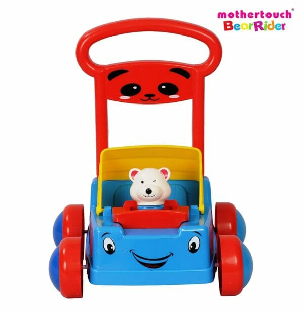 Mothertouch Bear Rider Ride On for Infants, Blue-3492