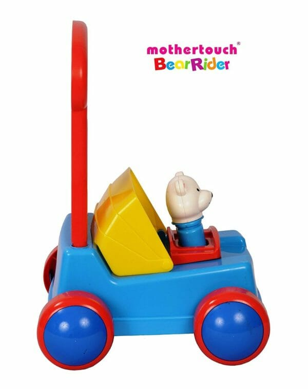 Mothertouch Bear Rider Ride On for Infants, Blue-3493