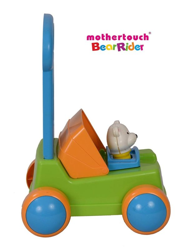 Mothertouch Bear Rider Ride On for Infants, Green -3501