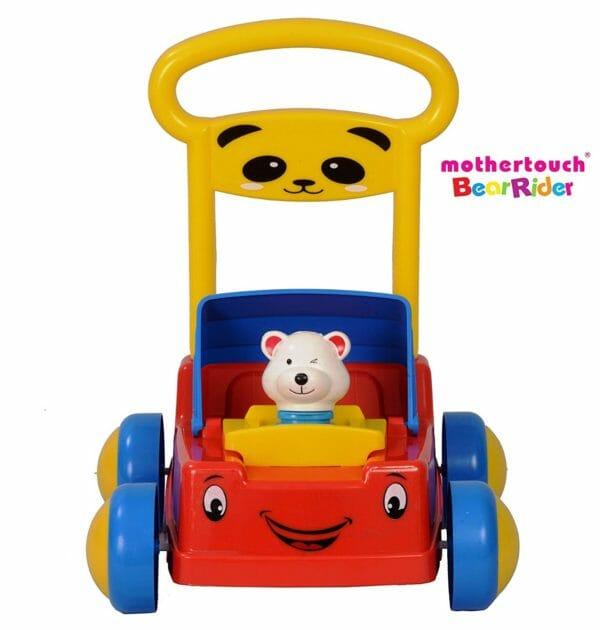Mothertouch Bear Rider Ride On for Infants, Red -3485