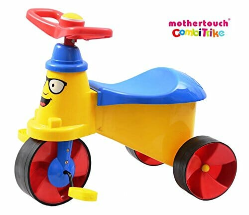 Mothertouch Combi Trike (Yellow)-0