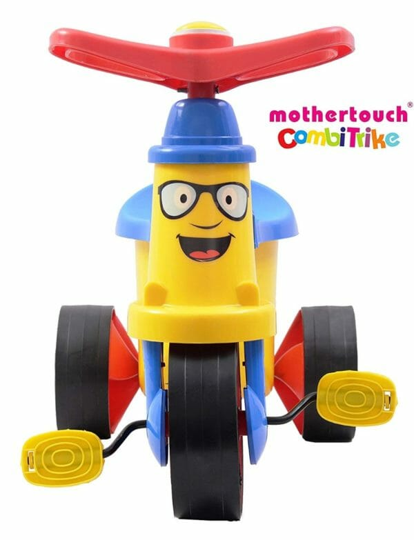 Mothertouch Combi Trike (Yellow)-3409