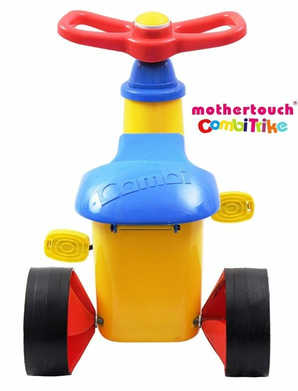 Mothertouch Combi Trike (Yellow)-3410