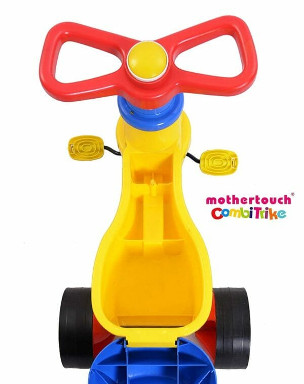 Mothertouch Combi Trike (Yellow)-3411