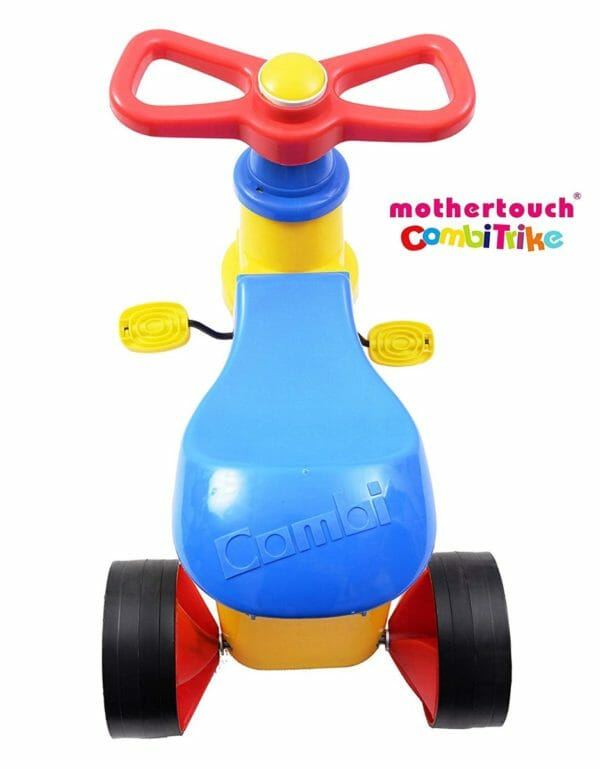 Mothertouch Combi Trike (Yellow)-3412