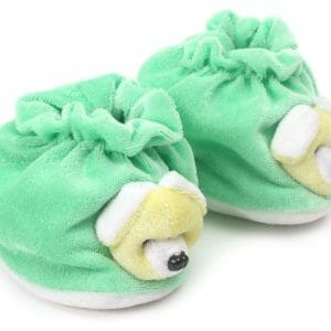 Morison Baby Dreams Baby Booties Animal Face - Green-0