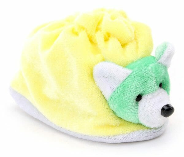 Morison Baby Dreams Baby Booties Animal Face - Yellow-3914