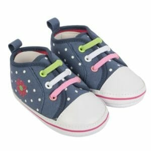 Morisons Baby Dreams Baby Shoes- Denim-0