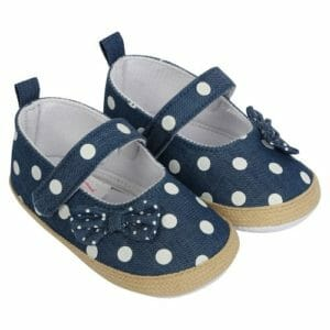 Morisons Baby Dreams Baby Shoes- Polka Dot -0