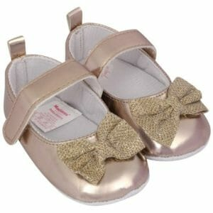 Morisons Baby Dreams Baby Shoes- Gold-0
