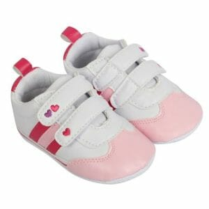 Morisons Baby Dreams Baby Shoes- Baby Pink-0