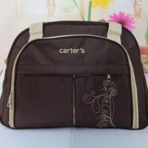 Carter's Diaper Bag - Brown -0